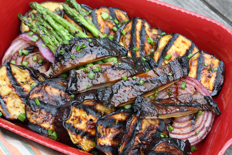 Asian Flavored Grilled Vegetables
