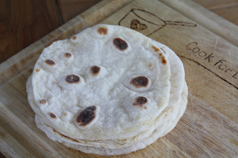 Tortillas (Yeasted Dough)